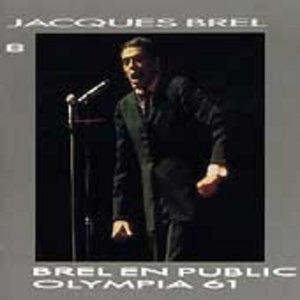 Brel En Public Olympia 61 album cover
