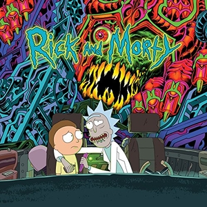 The Rick And Morty Soundtrack album cover