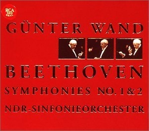 Beethoven: Symphonies Nos. 1 & 2 album cover