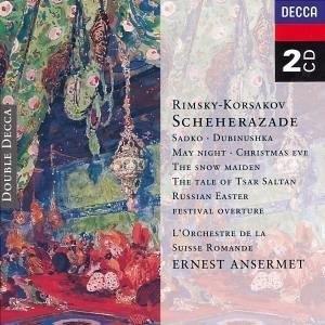 Rimsky-Korsakov: Scheherazade album cover