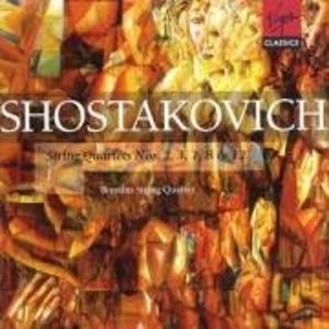 Shostakovich: String Quartets Nos. 2, 3, 7, 8, & 12 album cover