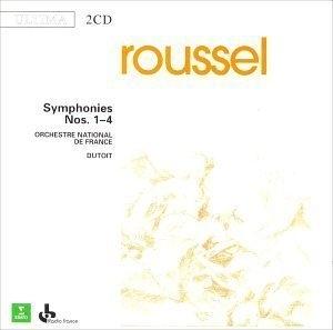 Roussel: Symphonies Nos. 1-4 album cover