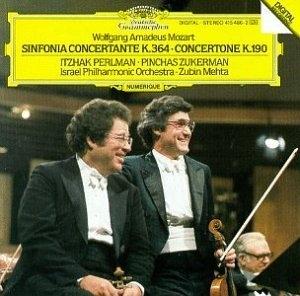 Mozart: Sinfonia Concertante album cover