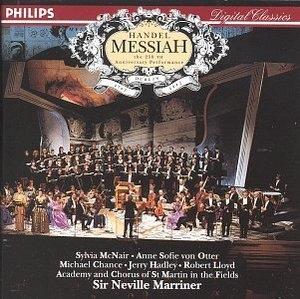 Handel: Messiah album cover