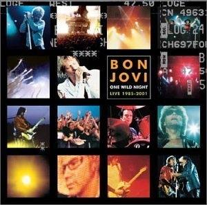 One Wild Night: Live 1985-2001 album cover