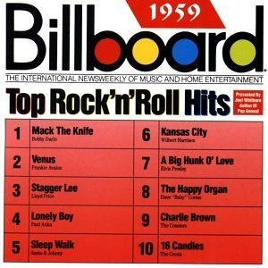 Billboard Top Rock 'N' Roll Hits: 1959 album cover