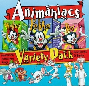 Animaniacs Variety Pack: 16 Delicious Songs From The Hit TV Series album cover