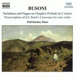 Busoni: Piano Music Vol.2 album cover