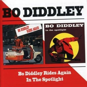 Bo Diddley Rides Again~ In The Spotlight album cover