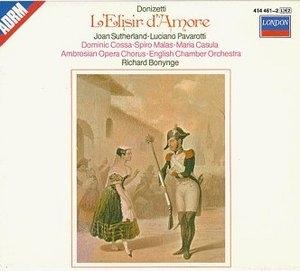 Donizetti: L'Elisir D'Amore album cover