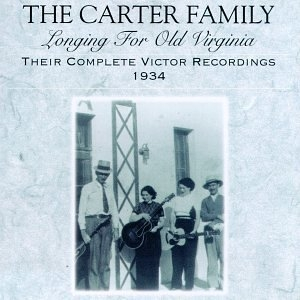 Longing For Old Virginia-Their Complete Victor Recordings 1934 album cover