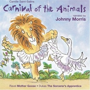 Saint-Saens: Carnival Of The Animals album cover