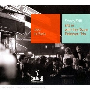 Sits In With Oscar Peterson Trio album cover