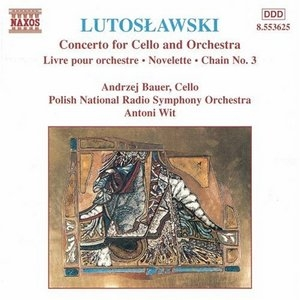 Lutoslawski: Concerto For Cello And Orchestra album cover