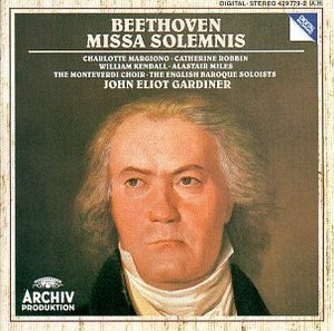 Beethoven: Missa Solemnis In D Major, Op. 123 album cover