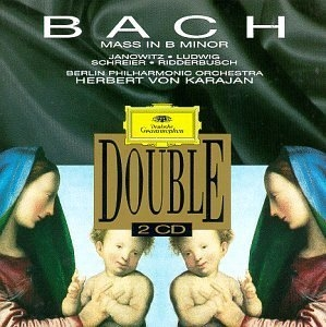 JS Bach: Mass In B Minor album cover