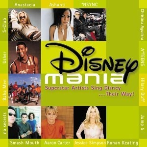 Disneymania: Superstar Artists Sing Disney...Their Way! album cover