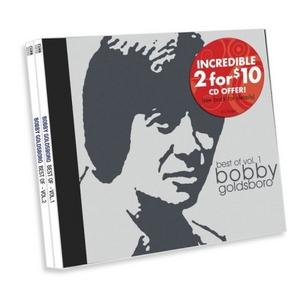 Best Of Bobby Goldsboro, Vol. 1 & 2 album cover