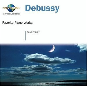 Debussy: Favorite Piano Works album cover