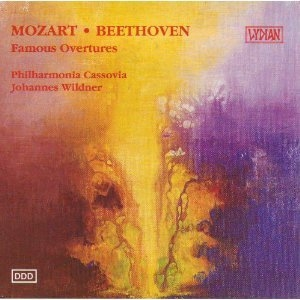 Mozart, Beethoven: Famous Overtures album cover