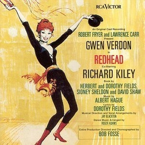 Redhead (1959 Original Broadway Cast)  album cover