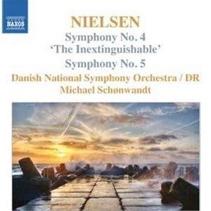 Nielsen: Symphonies Nos. 4 & 5 album cover