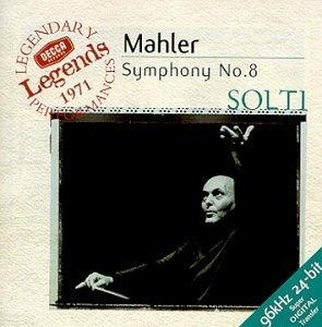 Mahler: Symphony No.8 album cover