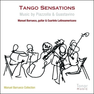 Tango Sensations: Music By Piazzolla & Guastavino album cover