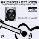 Peg Leg Howell And Eddie ... album cover