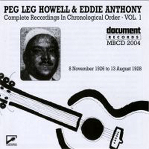 Peg Leg Howell And Eddie Anthony Vol.1 album cover