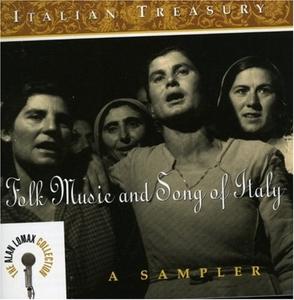 Italian Treasury: Folk Music & Song Of Italy album cover