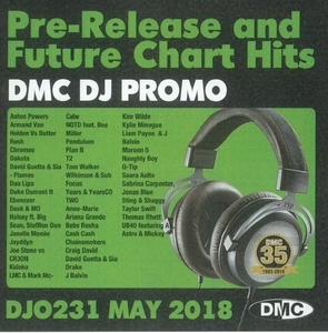 DMC DJ Promo, Vol. 231 (May 2018): Pre-Release And Future Chart Hits album cover