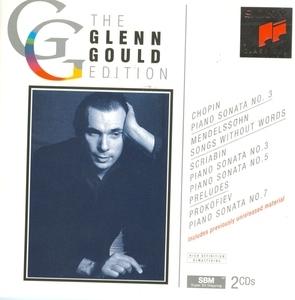 Glenn Gould Edition: Chopin, Mendelssohn, Scriabin, Prokofiev album cover