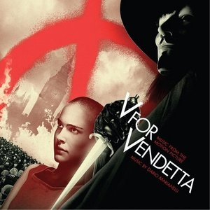 V For Vendetta: Music From The Motion Picture album cover