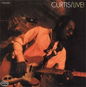 Curtis Live album cover