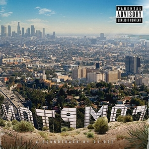 Compton: A Soundtrack by Dr. Dre album cover