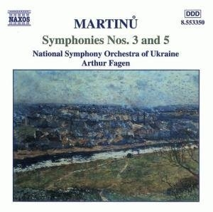 Martinu: Symphonies Nos.3 & 5 album cover