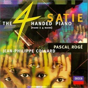 Satie: The Four-Handed Piano album cover