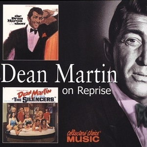 The Dean Martin TV Show~ Songs From The Silencers album cover