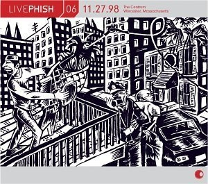 Live Phish Vol.6 album cover