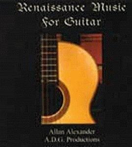 Renaissance Music For The Guitar album cover