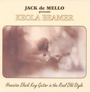 Hawaiian Slack Key Guitar In The Real Old Style album cover
