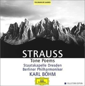 Strauss: Tone Poems album cover