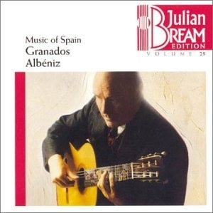 Music Of Spain: Granados, Albéniz album cover