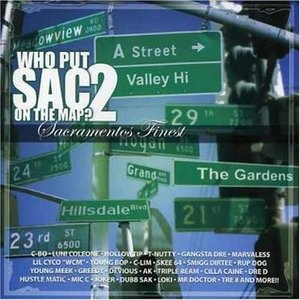 Who Put Sac On The Map 2 album cover
