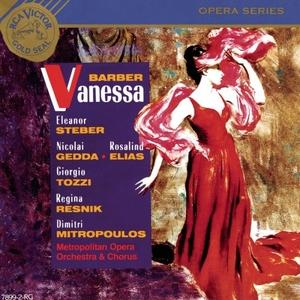 Barber: Vanessa album cover