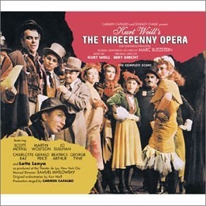 The Threepenny Opera (1954 New York Cast) album cover