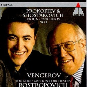 Prokofiev, Shostakovich: Violin Concertos album cover