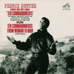 Sings His Hit Song 'Ten Commandments' album cover