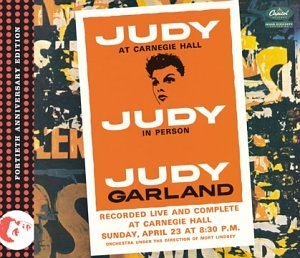 Judy At Carnegie Hall: Fortieth Anniversary Edition album cover